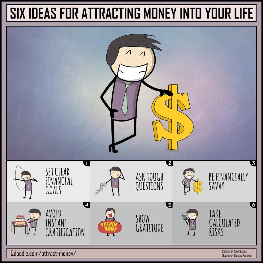 Six Ideas for Attracting More Money into Your Life
