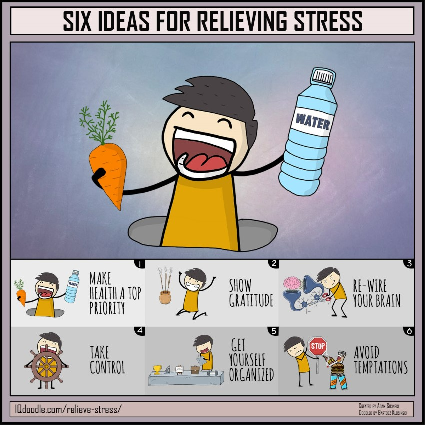 Six Ideas for Relieving Stress