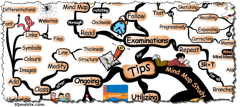 Mind Mapping Study Tips