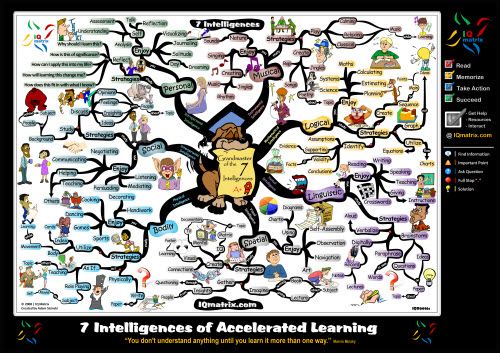 7 Intelligences of Accelerated Learning