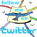 Follow Me on Twitter Logo Badge