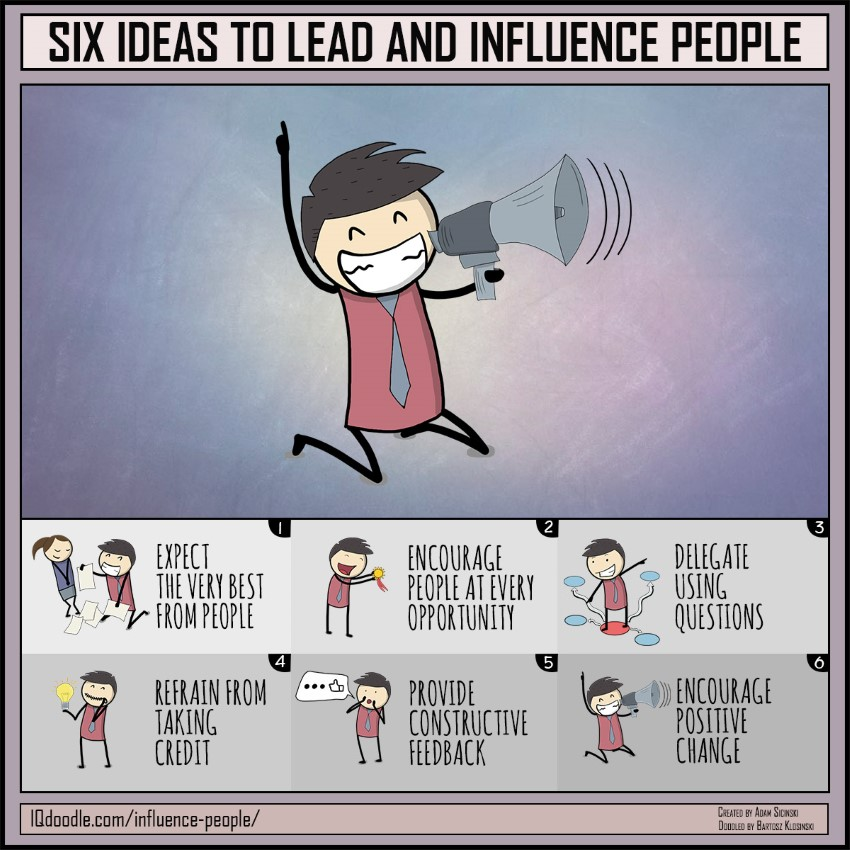 Six Ideas to Lead and Influence People