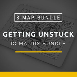 Getting Unstuck IQ Matrix Bundle
