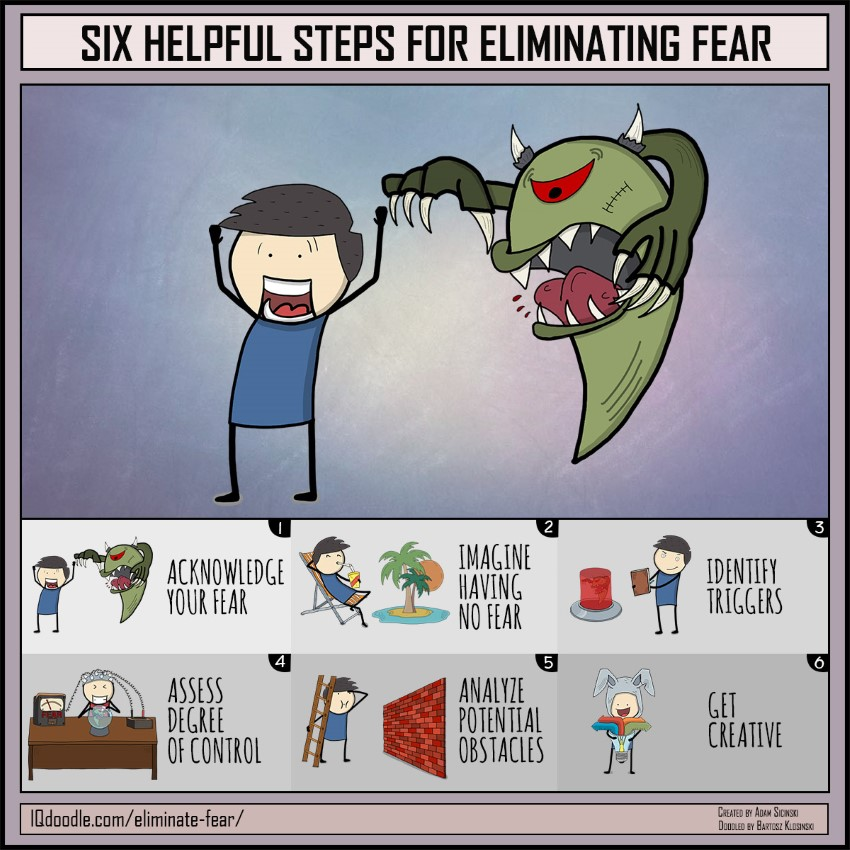 Six Helpful Steps for Eliminating Fear