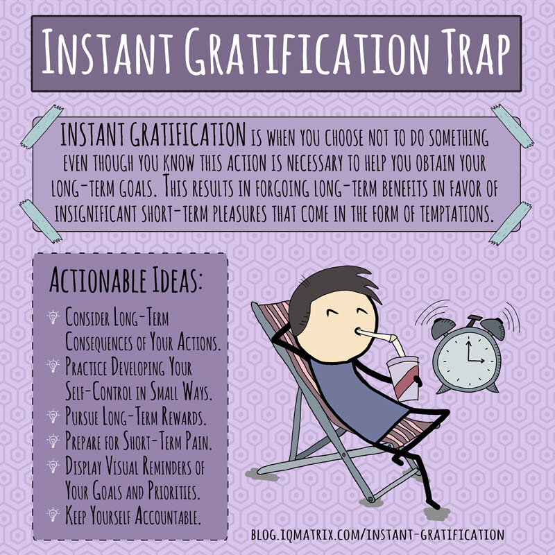 The Instant Gratification Trap