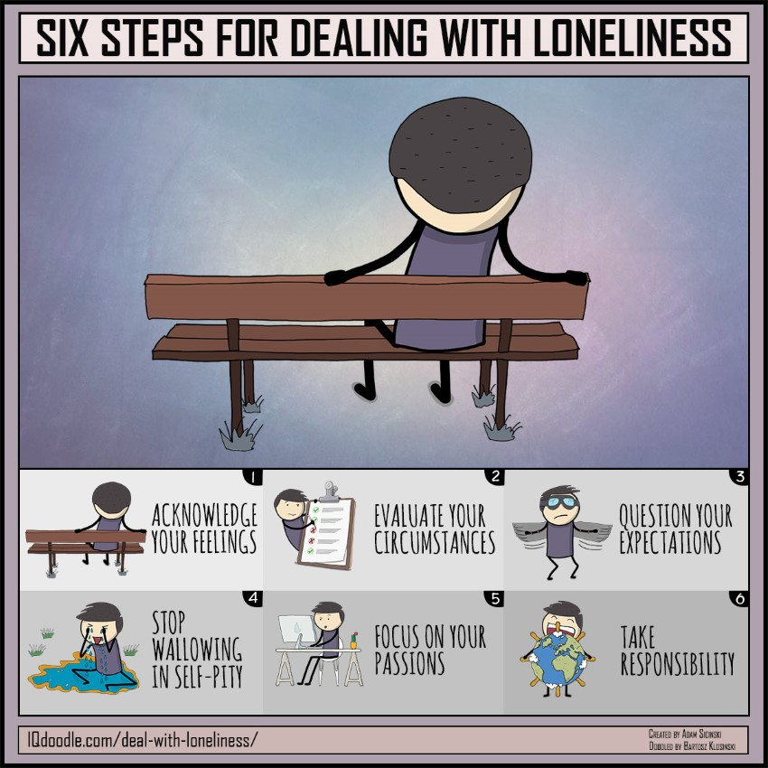 Six Steps for Dealing with Loneliness