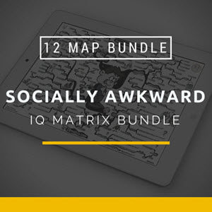 Socially Awkward IQ Matrix Bundle