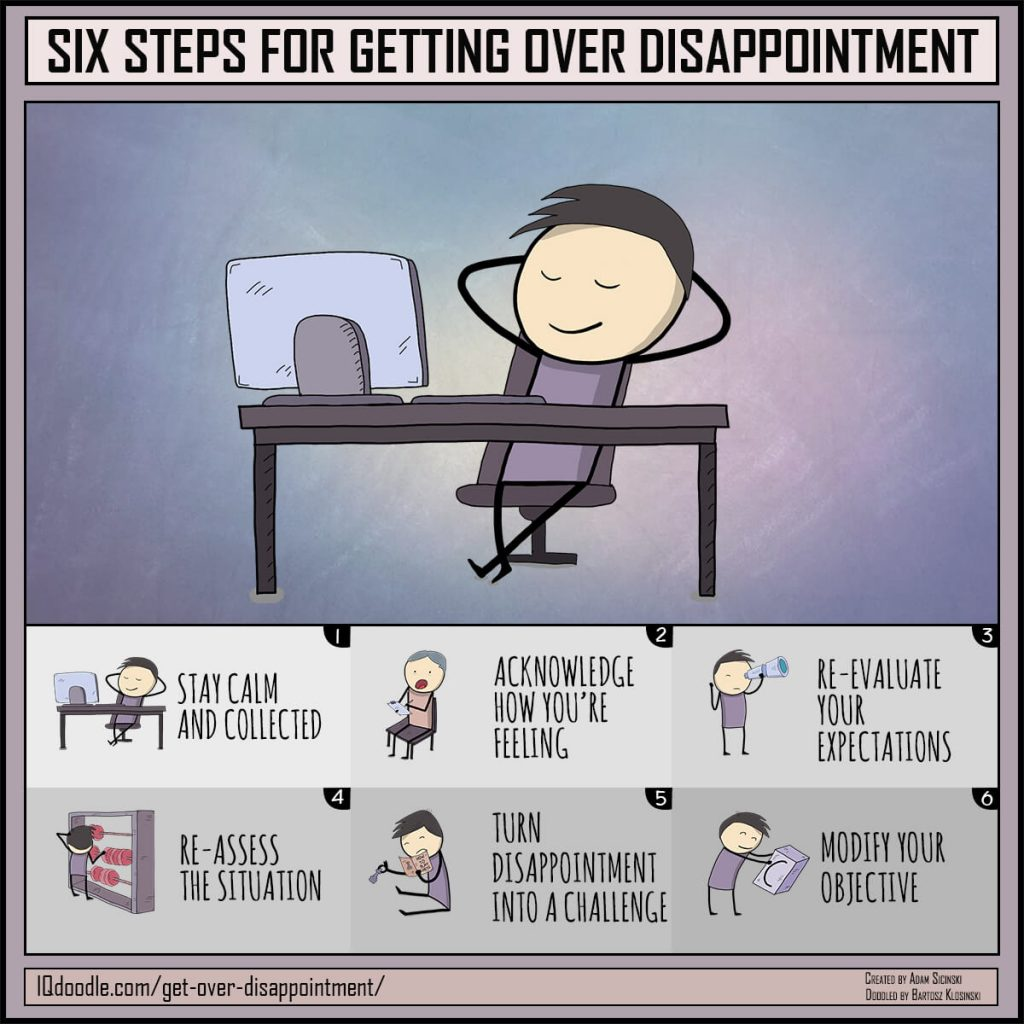 how to overcome disappointment and refocus on your goals six steps for getting over disappointment