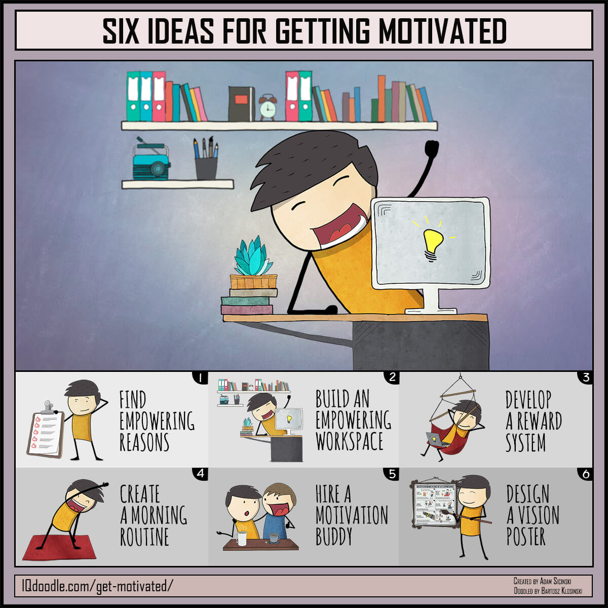 Six Ideas for Getting More Motivated