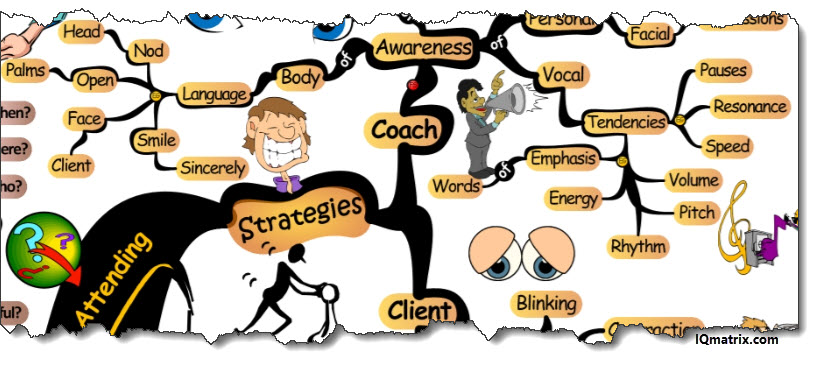 Life Coaching Attending Strategies