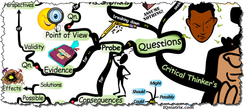 critical thinker This can arise due to language or cultural differences, a lack of awareness of the ' processes' involved, or a misunderstanding that critical thinking means making.