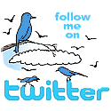 Follow Me on Twitter Logo Badge 3