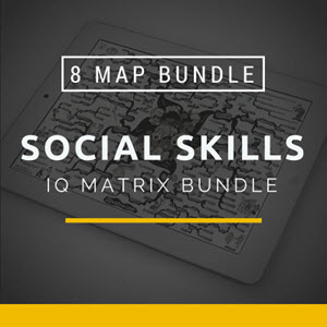 Social Skills IQ Matrix Bundle