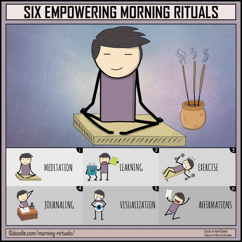 Six Empowering Morning Rituals